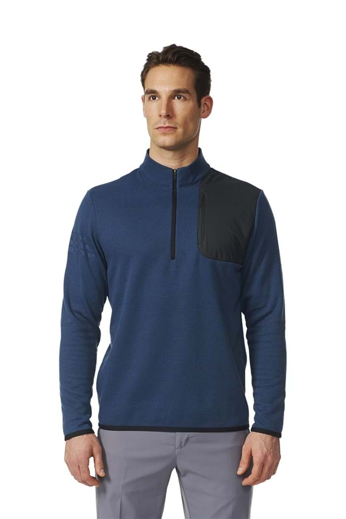Picture of Adidas ZNS Performance 1/2 Zip Sweater - Mineral Blue