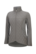 Picture of Adidas Tour Mixed Media Padded Jacket - Grey/Grey Heather