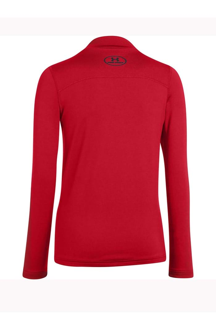 e8347d710 Under Armour UA Boys CG Evo fitted LS Mock - Red - Under Armour ...
