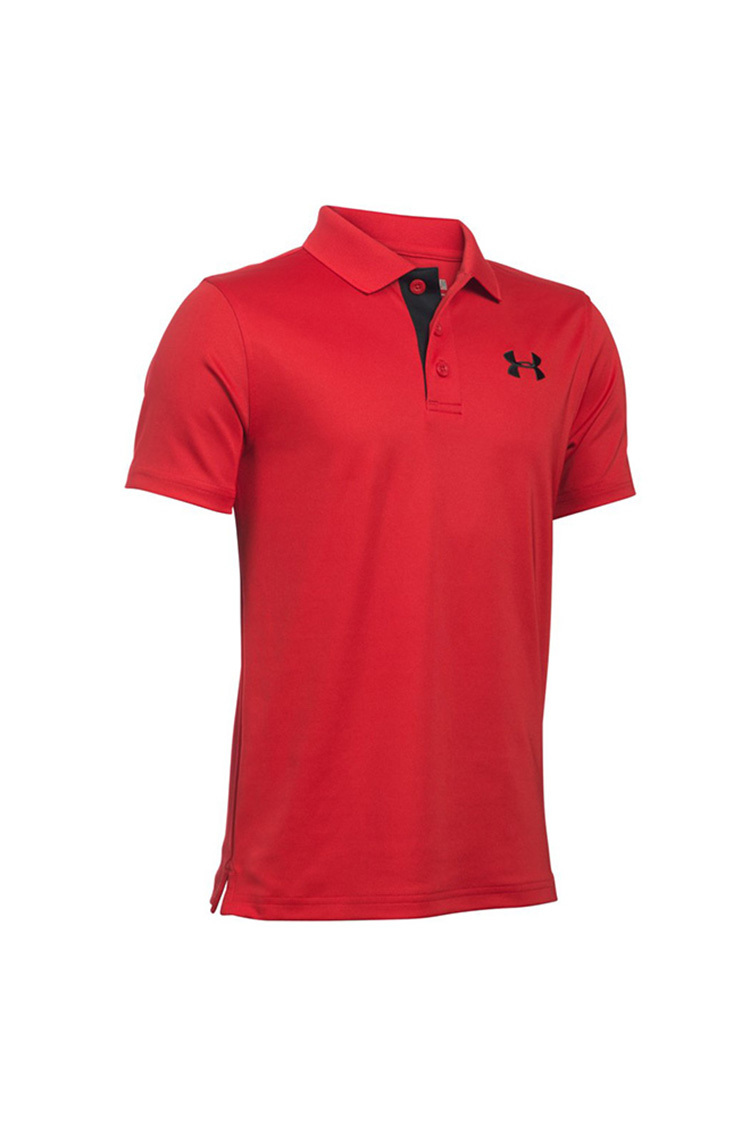 Picture of Under Armour UA Matchplay Junior Polo Shirt - Red