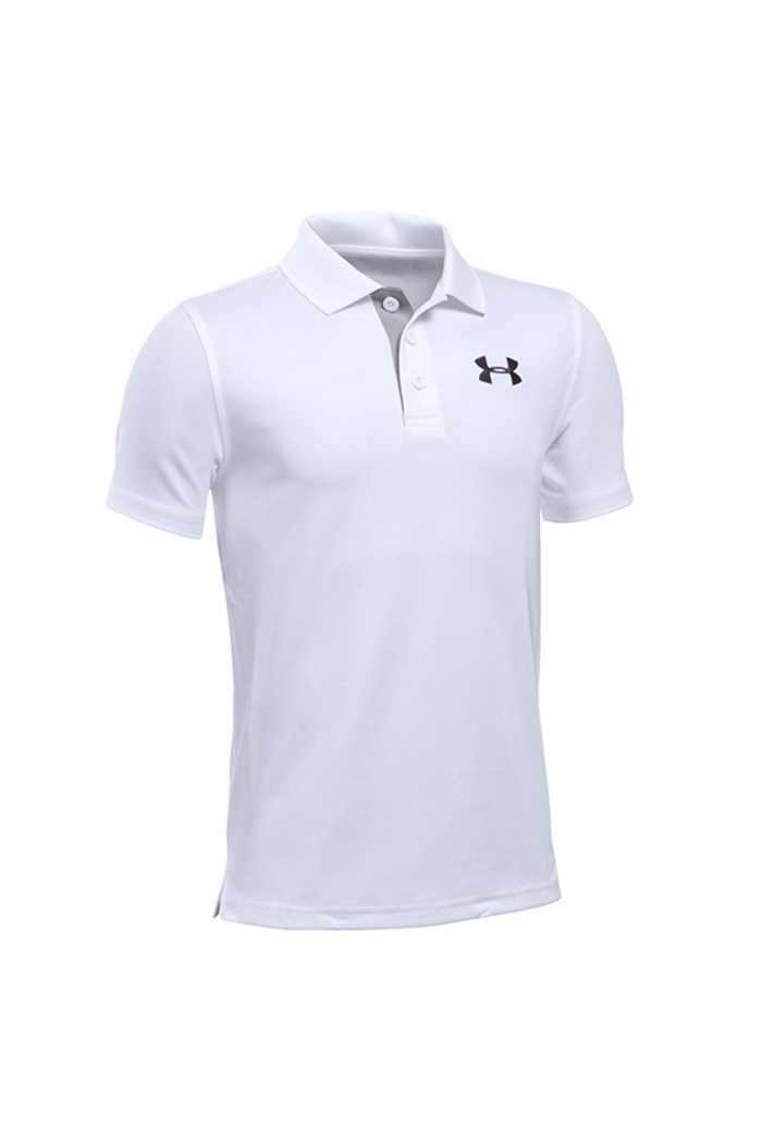 Picture of Under Armour ZNS UA Matchplay Junior Polo Shirt - White