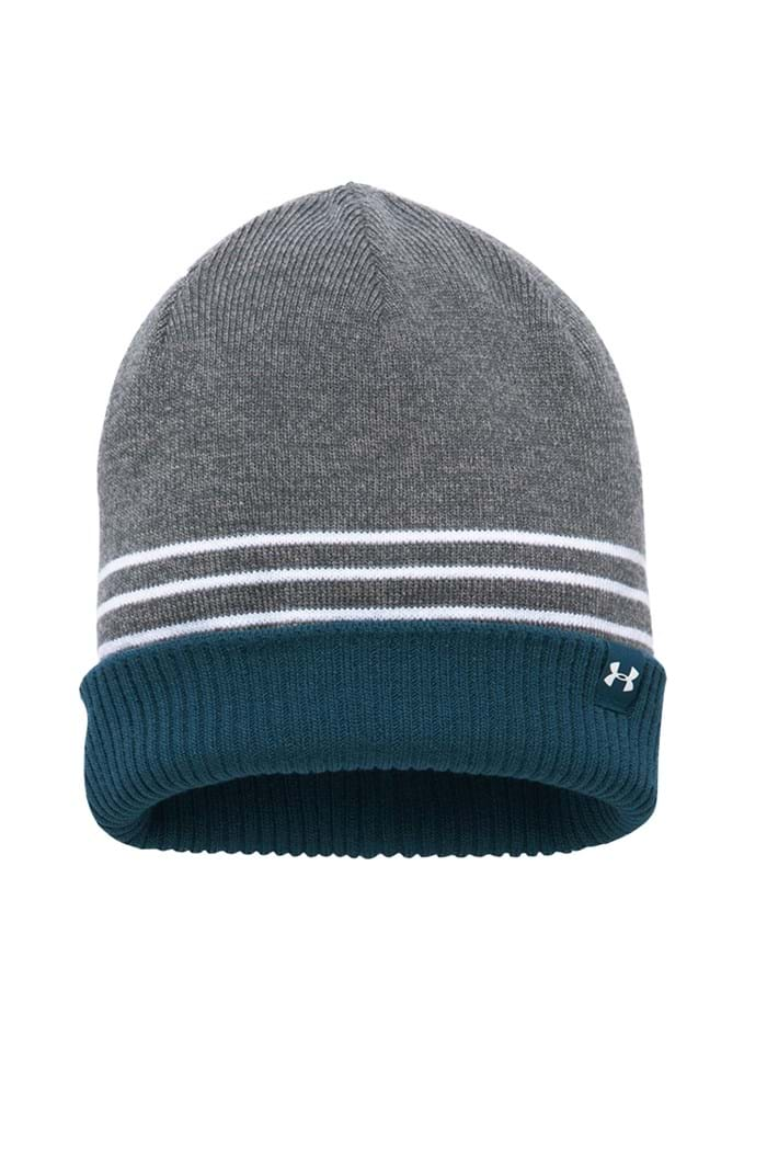 Picture of Under Armour zns UA Men's 4 in 1 Beanie 2.0 - Grey 035