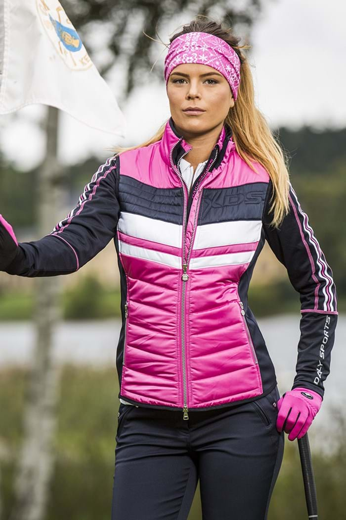 Daily Sports Alberta Wind Vest Gilet Rouge Pink