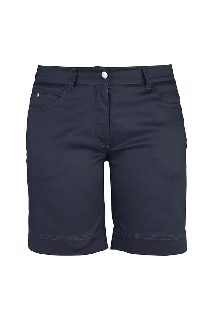 Picture of Daily Sports zns  Ladies Swing Shorts - Navy