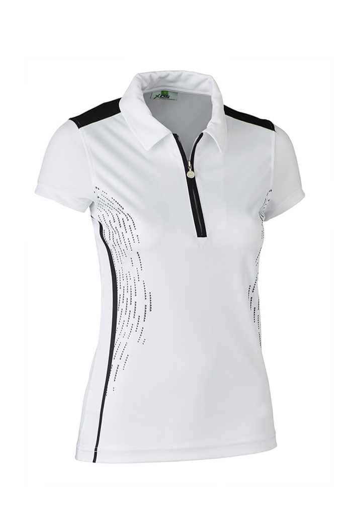 Picture of Daily Sports zns Memphis Cap Sleeve Polo Shirt - Black