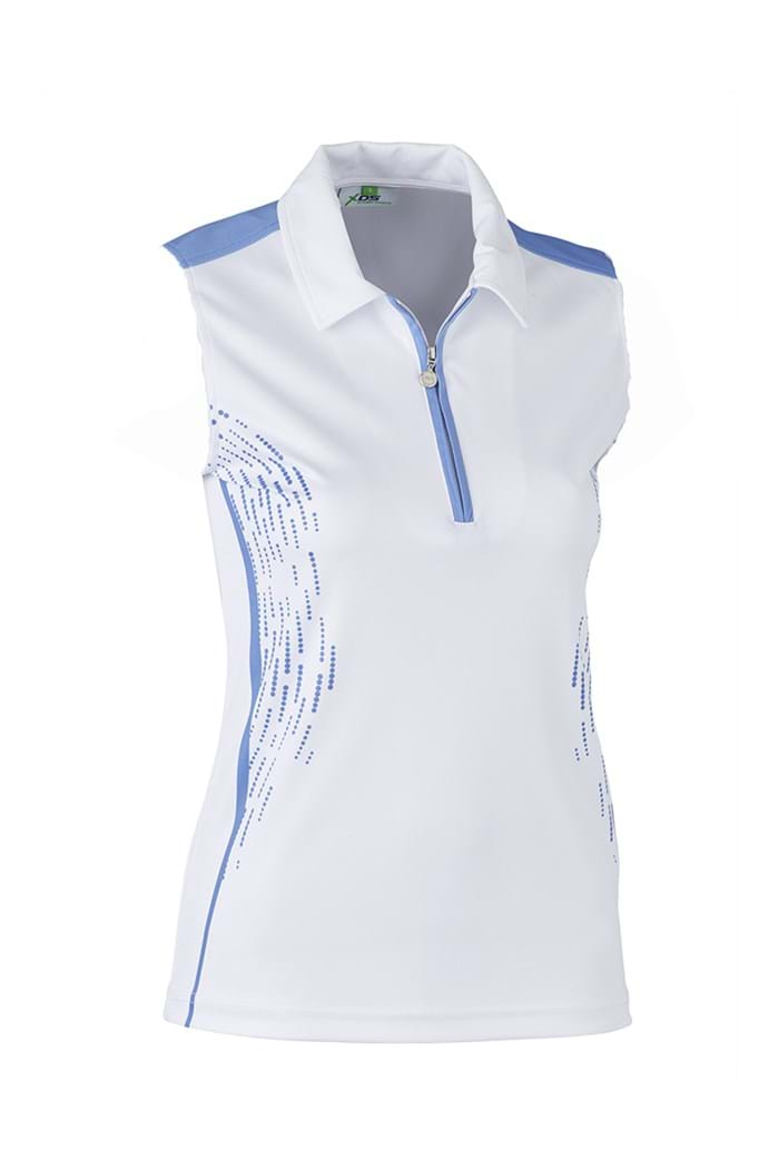 Picture of Daily Sports Memphis Sleeveless Polo Shirt - Blue Bell