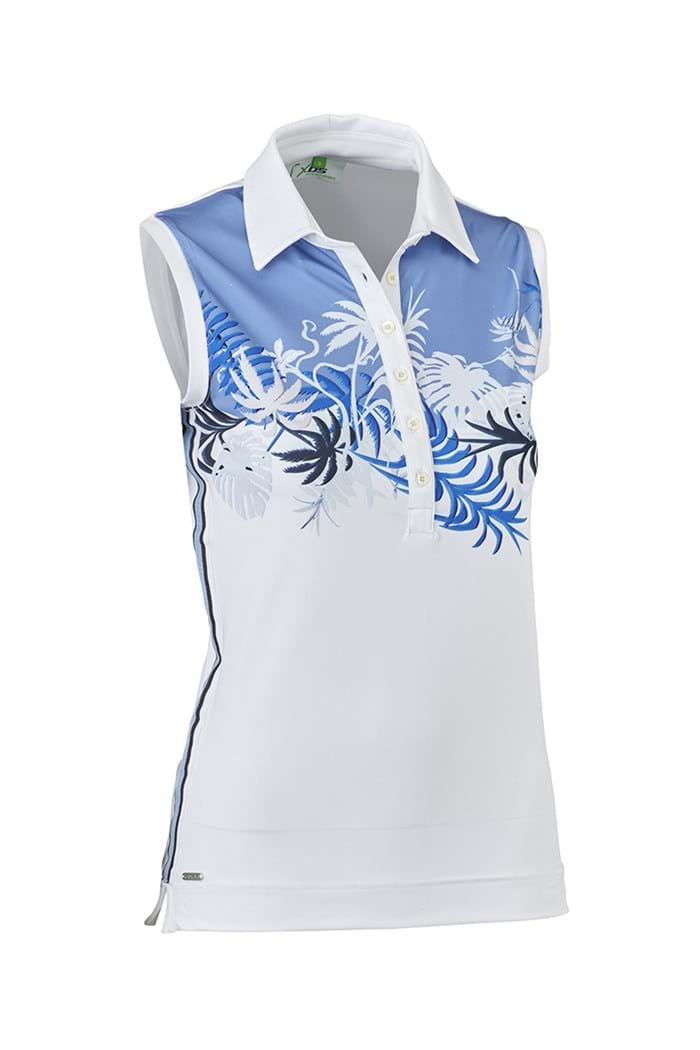 Picture of Daily Sports ZNS Poala Sleeveless Polo Shirt - Blue Bell