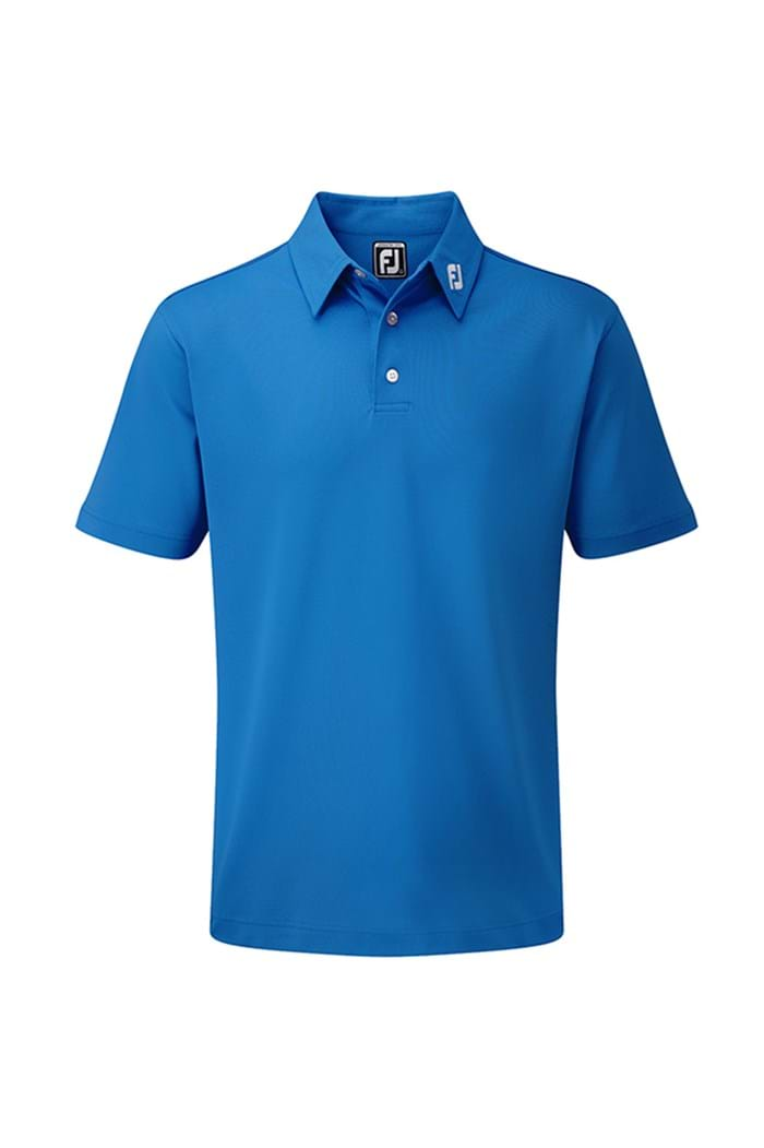 Picture of Footjoy Athletic Fit Pique Polo - Colbalt