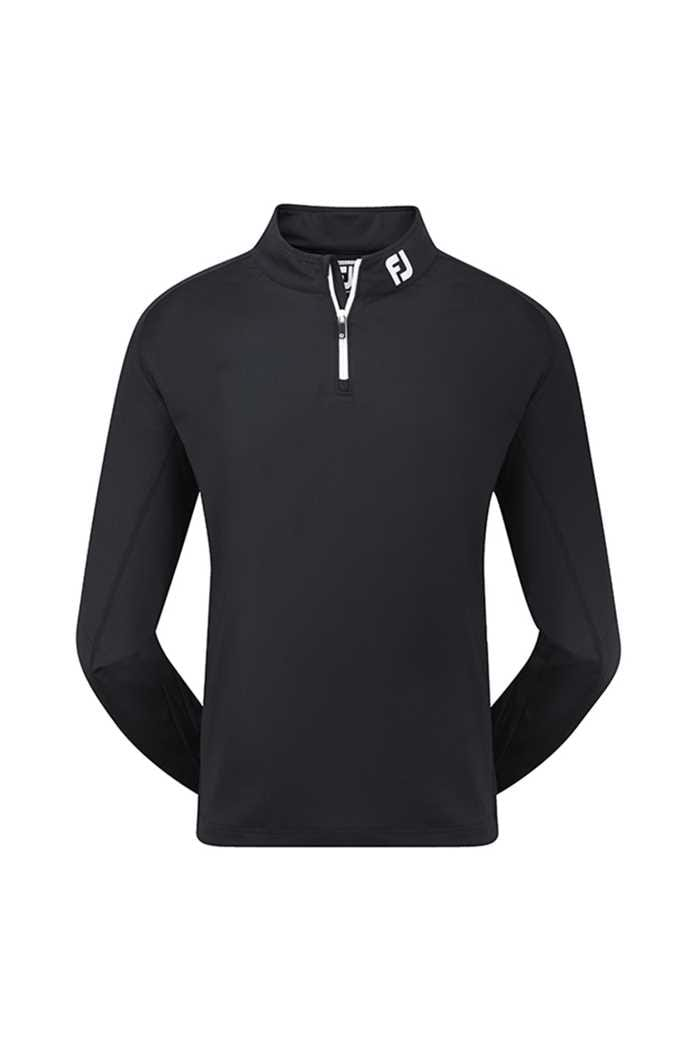 Picture of Footjoy zns  Chill-Out Pullover - Black/White