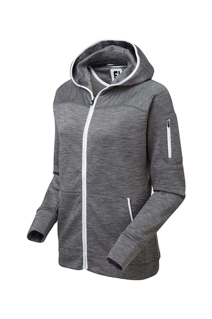 Picture of Footjoy ZNS Fleece Hoody Jacket - Charcoal