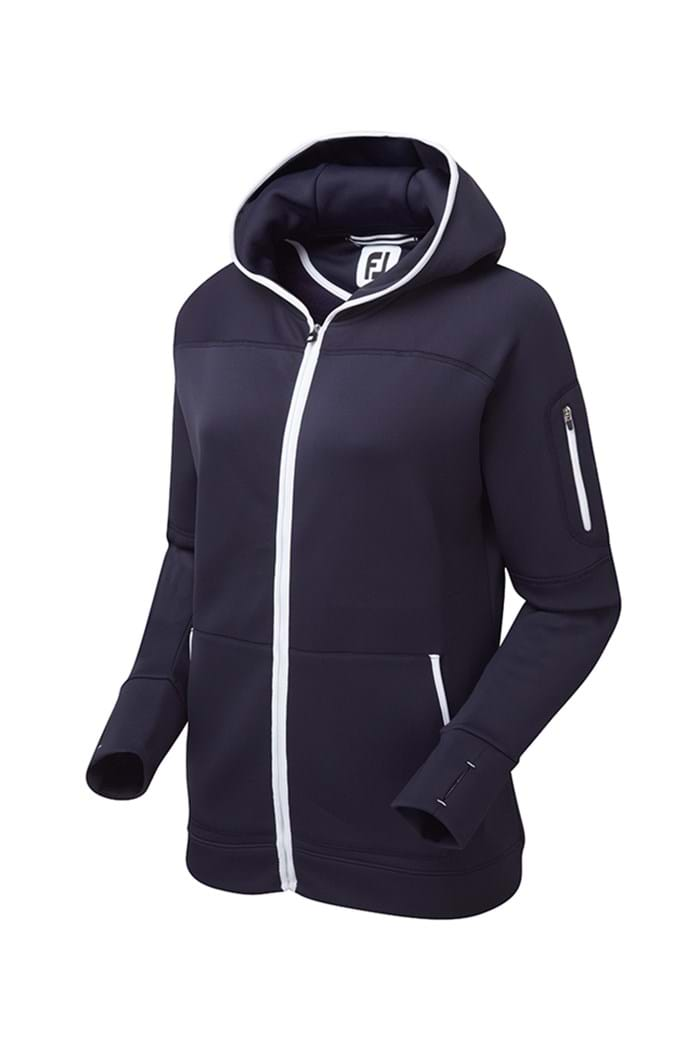 Picture of Footjoy ZNS Fleece Hoody Jacket - Navy