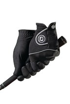 Picture of FootJoy Ladies Rain Grip Pair Gloves - Black