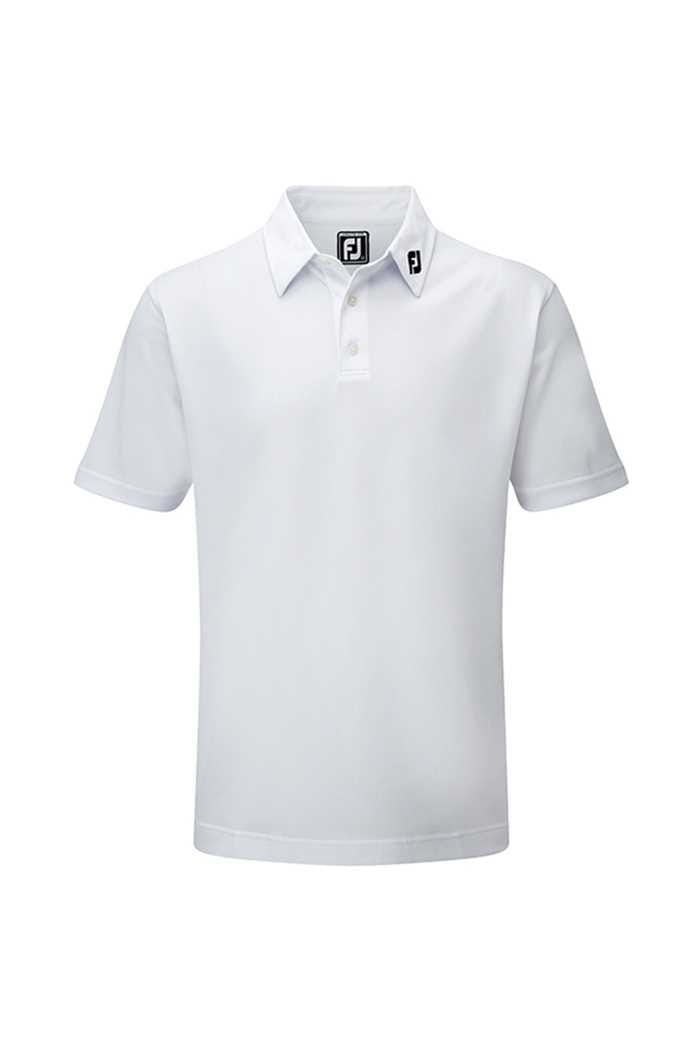 Picture of Footjoy ZNS Men's Athletic Fit Performance Polo Shirt - White