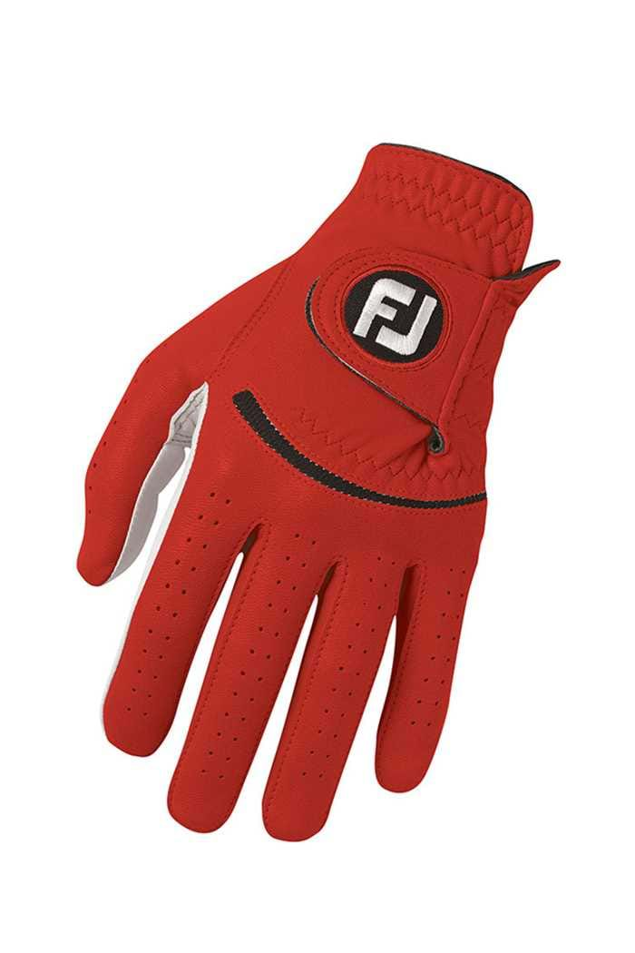 Picture of Footjoy ZNS Men's Spectrum Leather Glove - Red