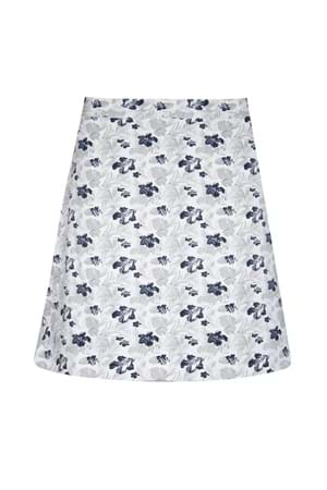 Picture of Glenmuir Celestine Printed Skort/Skirt - White/Startdust/Navy