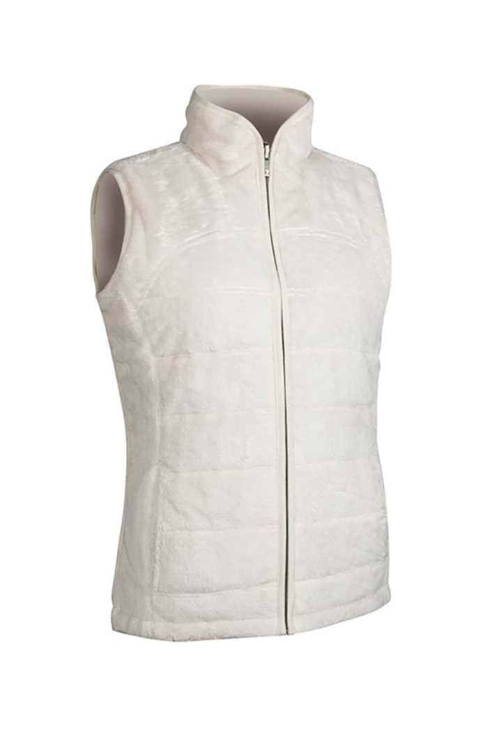 Picture of Glenmuir zns Demelza Reversible Fleece Lined Gilet - Ivory
