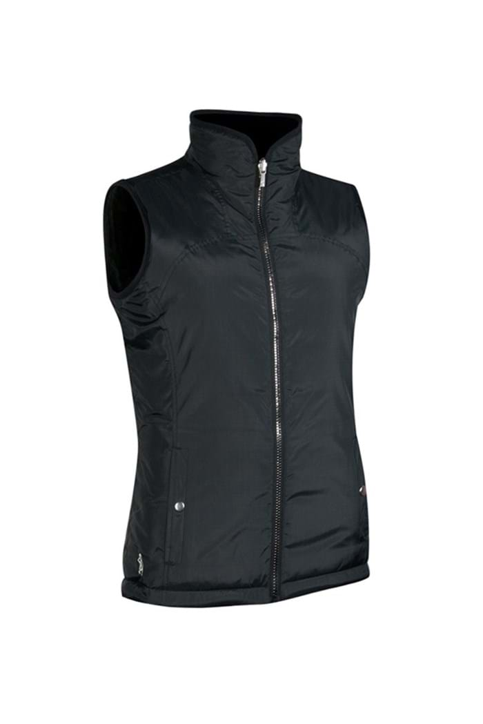 Picture of Glenmuir ZNS Demelza Reversible Fleece Lined Gilet - Black