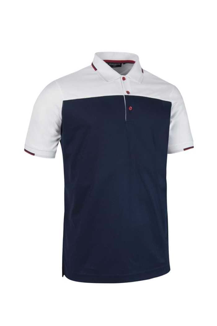 Picture of Glenmuir  zns Fredrick Polo Shirt - Navy/White