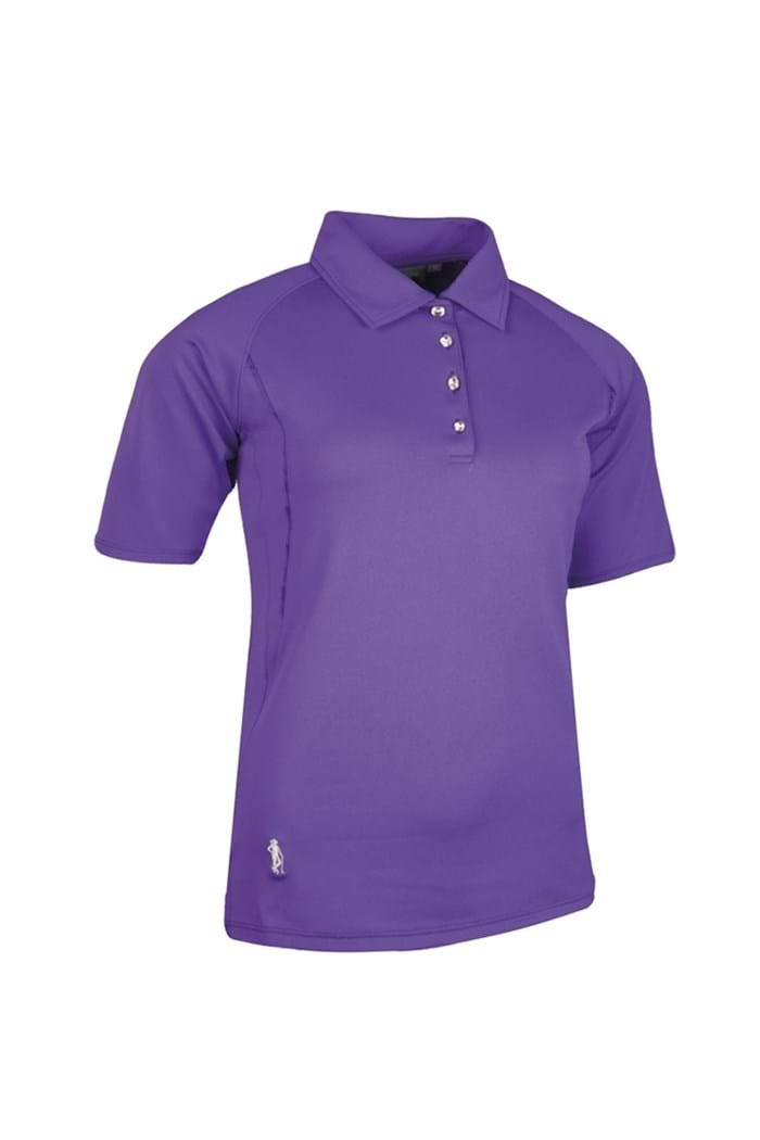 Picture of Glenmuir Renee Piped Performance Polo Shirt - Royal Purple