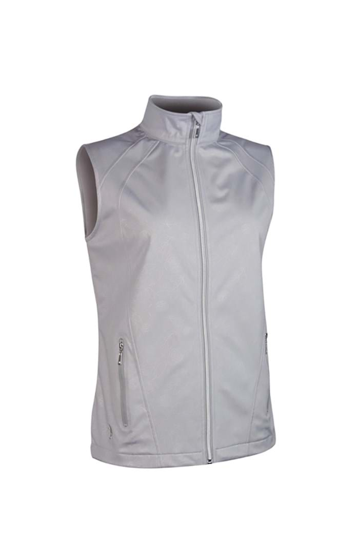 Picture of Glenmuir ZNS Selma Embossed Patterned Gilet - Stardust