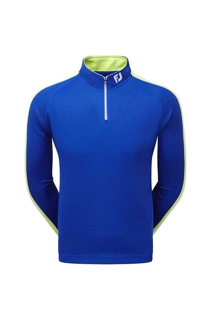 Picture of Footjoy Textured Chillout - Blue/Green/White