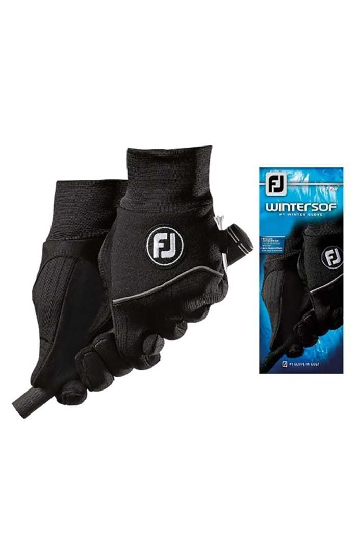 Picture of Footjoy Winter-Sof Ladies Pairs Glove - Black