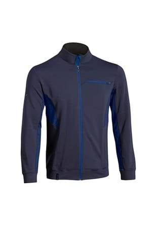 Picture of Mizuno Men's Breath Thermo Mid Active Jacket - Navy