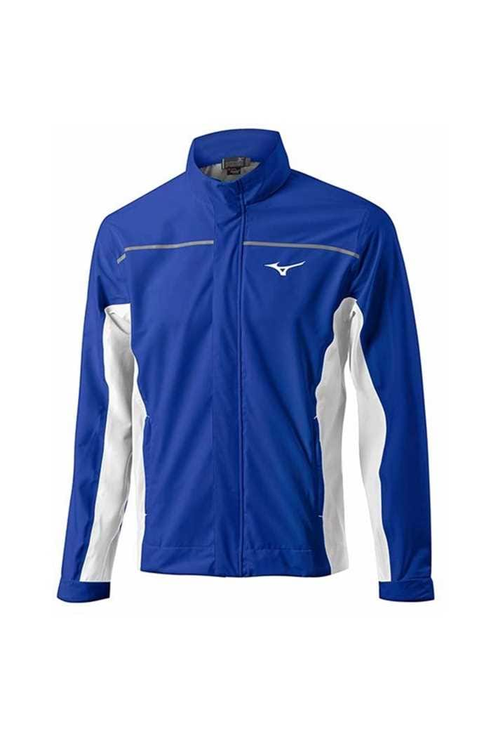 Picture of Mizuno zns MP Tour Waterproof Jacket - Blue/White