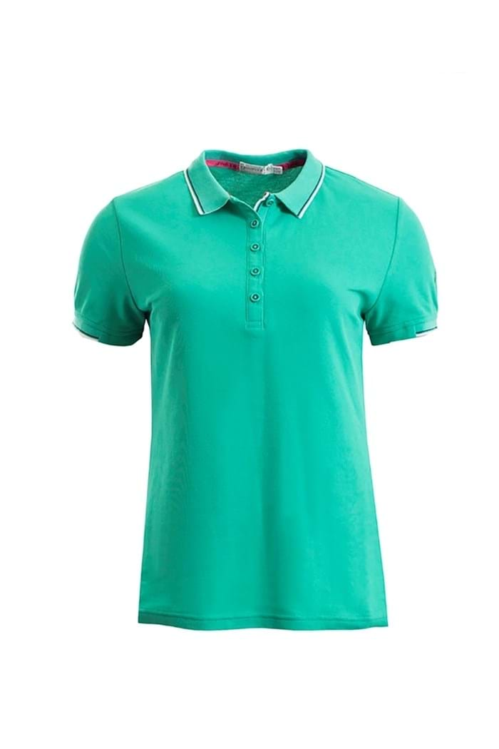 Picture of Green Lamb Farrah Club Polo Shirt - Jade
