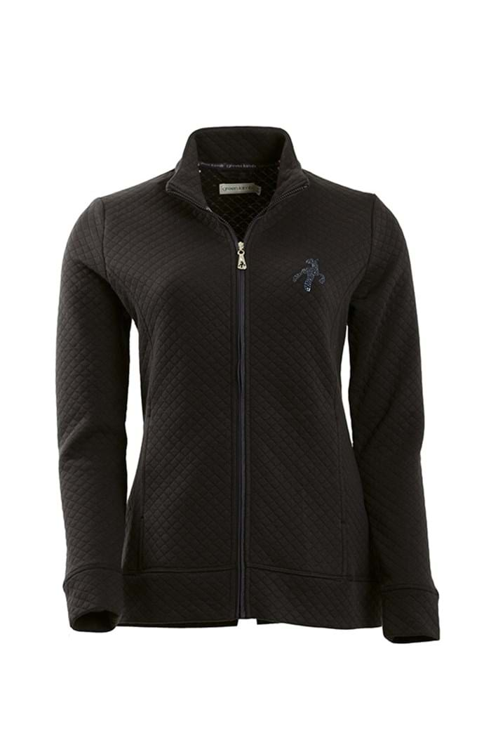 Picture of Green Lamb ZNS Joan Quilted Jacket - Black