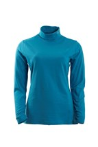 Picture of Green Lamb ZNS Robbin Roll Neck - Fjord Blue