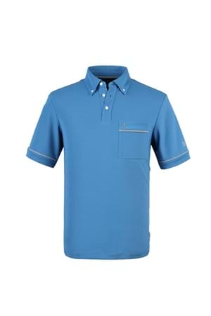 Picture of Oscar Jacobson Anton Poloshirt - Sport Blue