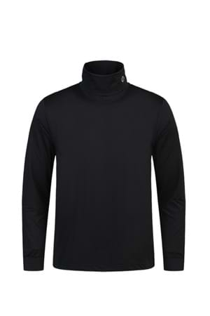 Picture of Oscar Jacobson Birk Classic Rollneck - Black