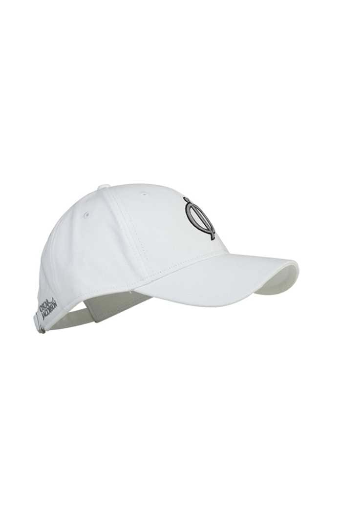 Picture of Oscar Jacobson Jake Golf Cap - White/Grey/Black