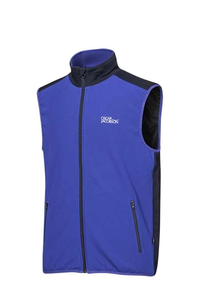 Picture of Oscar Jacobson ZNS Moyne Tour Vest/Gilet - Deep Blue/Black