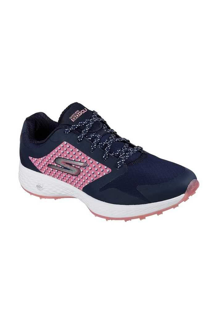 Picture of Skechers zns  Go Golf Eagle Lead Golf Shoes - Navy / Pink