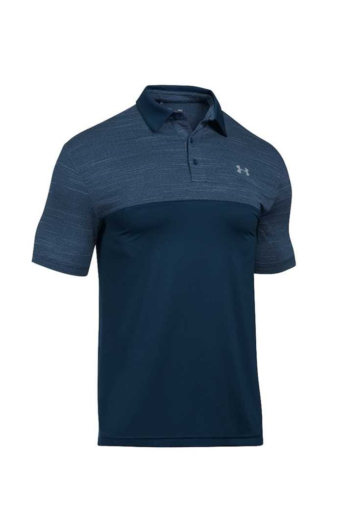 Picture of Under Armour UA Playoff Blocked Polo Shirt  - Navy 408