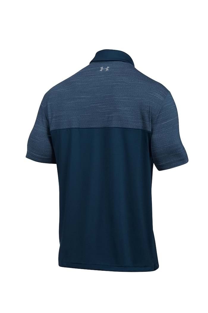 a1826695 Picture of Under Armour UA Playoff Blocked Polo Shirt - Navy 408