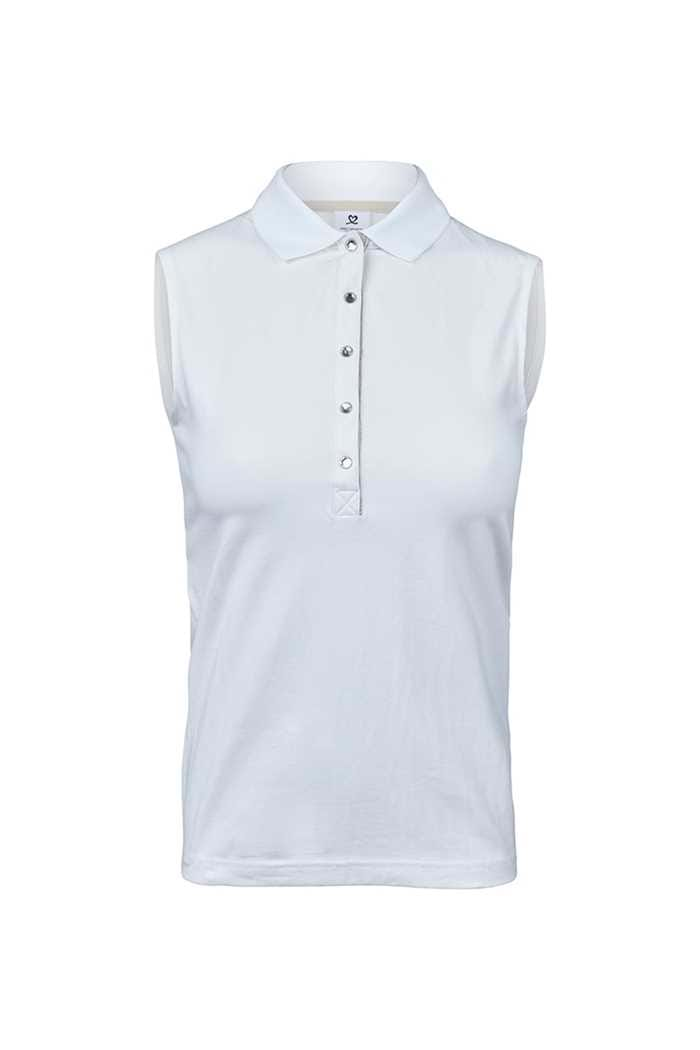 Picture of Daily Sports ZNS ilse Sleeveless Polo Shirt - White