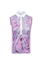 Picture of Daily Sports zns Marta Sleeveless Polo Shirt - Veronica