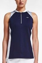 Picture of Rohnisch ZNS Block Sleeveless Polo Shirt - Indigo Night