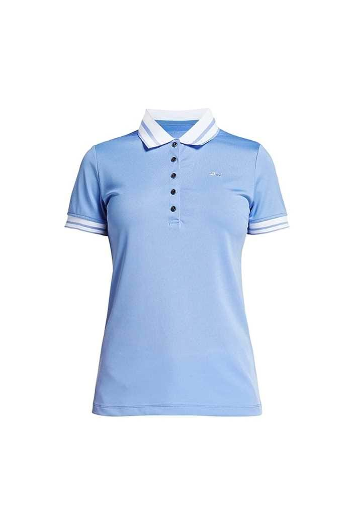 Picture of Rohnisch ZNS Pim Polo Shirt - Blue Shell
