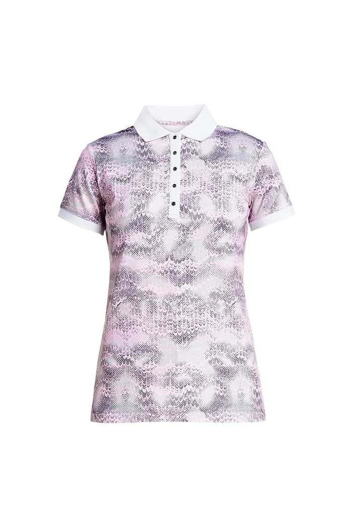 Picture of Rohnisch AOP Polo Shirt - Cherry Blossom Ocean Ripple