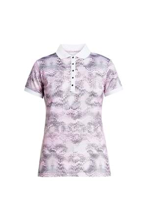 Picture of Rohnisch AOP Polo Shirt - Cherry Blossom Ocean Ripple