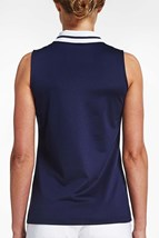 Picture of Rohnisch Pim Sleeveless Polo Shirt - Indigo Night