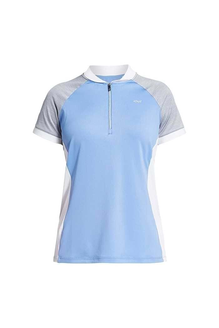 Picture of Rohnisch ZNS Block Polo Shirt - Blue Shell