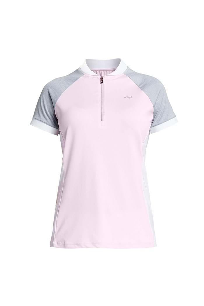 Picture of Rohnisch zns Block Polo Shirt - Cherry Blossom
