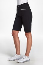 Picture of Rohnisch Comfort Stretch Bermuda Shorts - Black