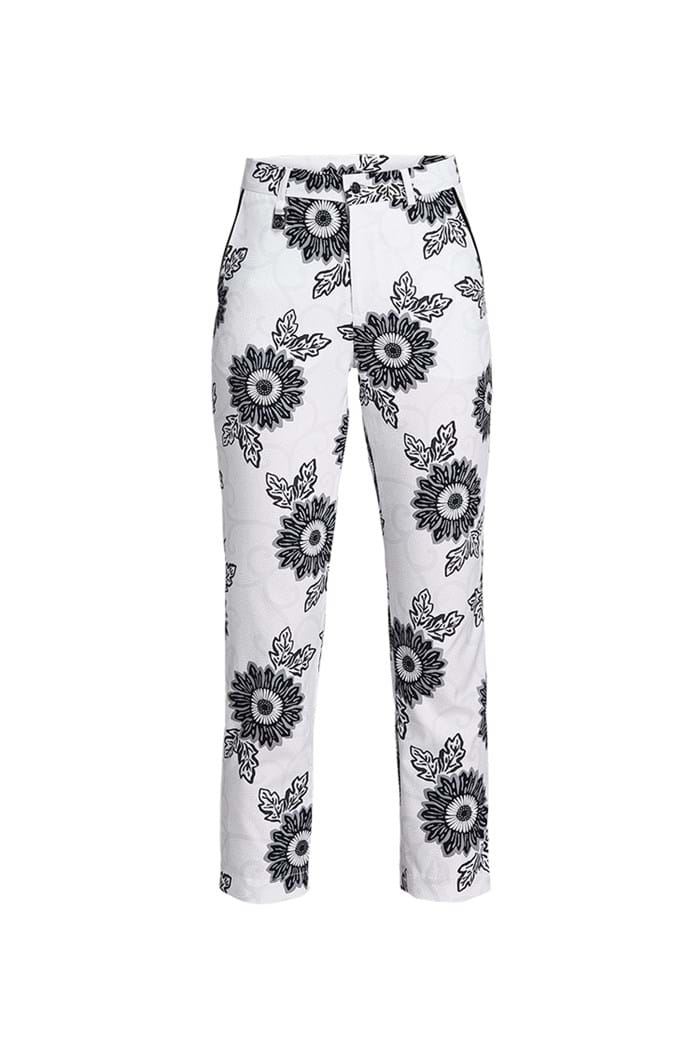 Picture of Rohnisch Kia 7/8 Pants - Black Maasai Flower