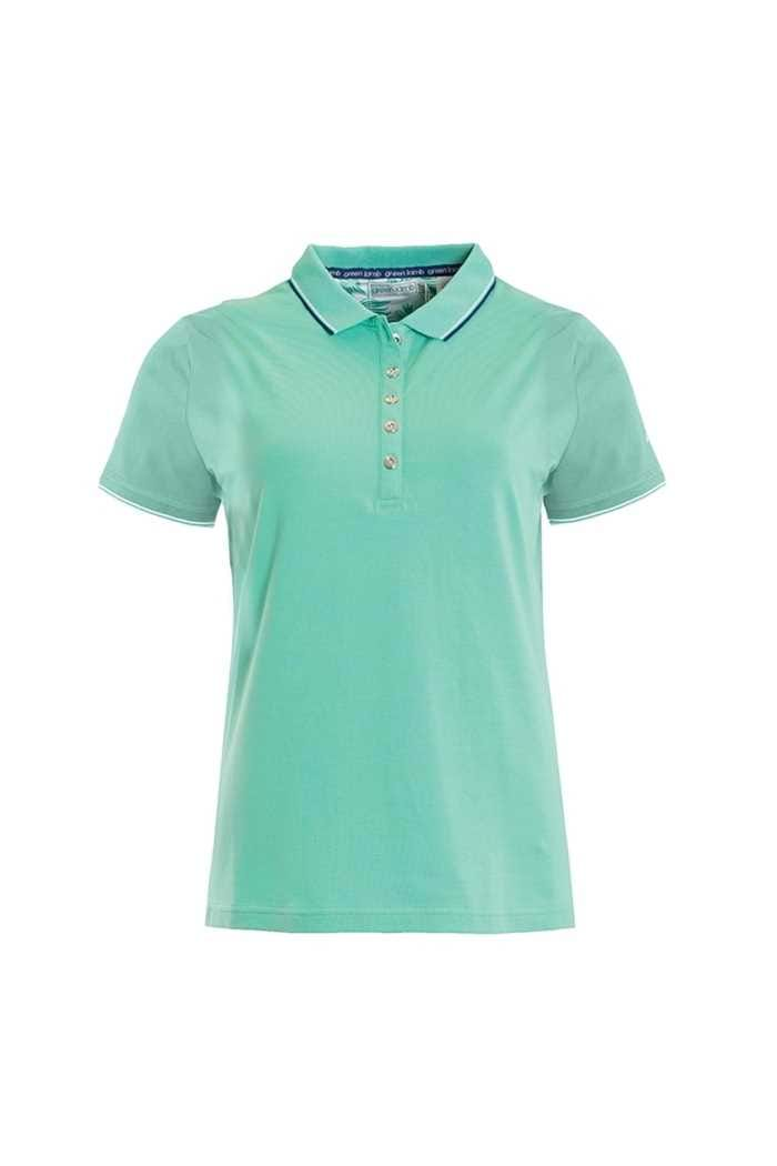 Picture of Green Lamb Patsy Jersey Club Polo - Green